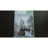 Assassins Creed 3 Xbox 360 Nuevo Sellado