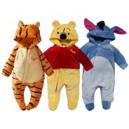 Kit 3 Mamelucos Disney  Tigger, Pooh, Eeyore A Precio De 2