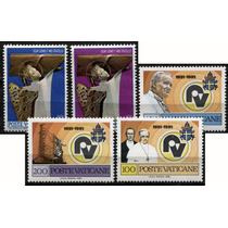 0960 Juan Pablo 2° Vaticano Lotecito 5 S Mint N H 1971-81