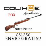 Rifle Aire Comprimido Fox Nitro Piston Gs 1250 Igt Gas Ram