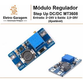 Módulo Regulador Dc Mt3608 2,5~24v Para 28v, Frete R$ 11,00