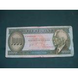Billete Hungria 1000 Forint # 176