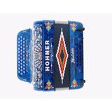 Acordeon Diat Anacleto Hohner Fa-sib-mib Azul Aperlado A7761