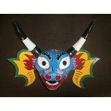 Máscara De Los Diablos Danzantes De Yare Para Decoración
