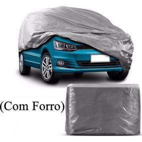 Capa Cobrir Carro Sandero,agile Forrada Impermeavel C/forro