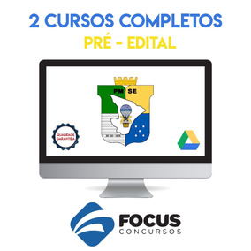 2 Cursos Completos Pmse 2017 - Pm Sergipe - Soldado