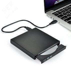 Dvd Player Externo Dvdr Dvdrw Leitura/gravação De Dvd