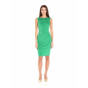 Vestido Casual Color Aquamarine Calkin Klein Nuevo Original