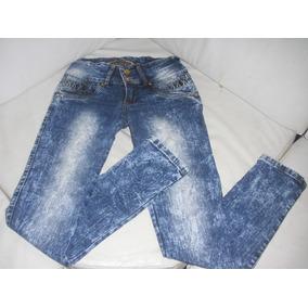 Blue Jeans De Dama Strech Talla 28