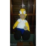 Homero Simpson Tejido Al Crochet