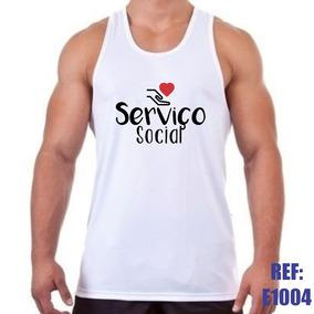 Camiseta Regata Serviço Social Assistente Profissão