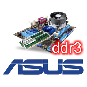 Super Kit Intel Asus Ddr3 + Core 2 Duo E8400 + 4gb + Cooler