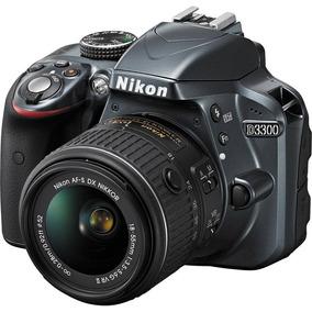 Câmera Nikon D3300 Lente 18-55