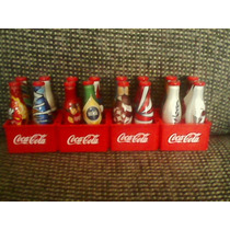 Coleção Garrafas Miniaturas Coca Cola Da Copa C\engradados
