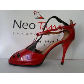 Zapatos De Charol Con Plataforma 40 Nuevos