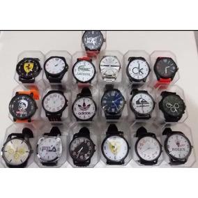 Kit 30 Relógio Masculinos Multi Marcas- Revenda Frete Grátis