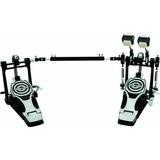 Ddrum Rxdp Pedal Para Batería Doble, Negro Y Cromo