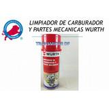 Wurth Limpiador De Carburador Y Partes Mecanicas 350ml 1pza.