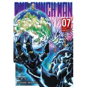 Manga Revista One Punch Man Vol 07 Lacrado Novo Frete Grátis