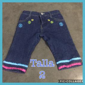 Pantalón Blue Jeans Para Niñas Varios Modelos Y Tallas