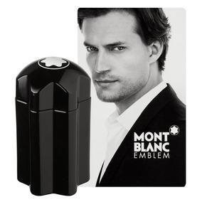 Perfumes Mont Black Emblem, Orginal. Panameño