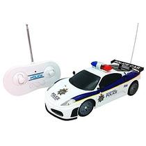 Juguete Justicia Policial Equipo Rc Coche De Policía De Esc