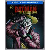 Batman The Killing Joke Steelbook Blu-ray + Dvd + Dig Hd
