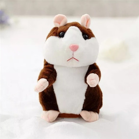 Kit 2 Hamster Falante Repete Tudo Que Criança Fala, Presente