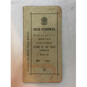 Cheque Caixa Econômica São Paulo Serie C Santos