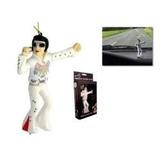 Elvis Presley Muñeco De Goma C/resorte Colgante P/auto Orig.