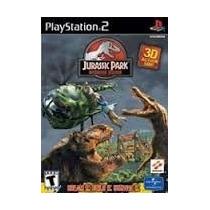 Jurassic Park Operation Genesis Ps2 Patch + 2 De Brinde