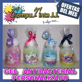 Recuerditos Gel Antibacterial Personalizados