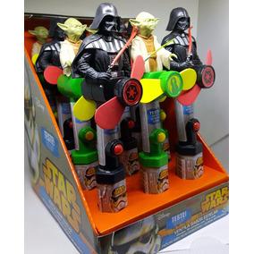 Brinquedo Star Wars Ventila Sabor Display Com 12 Unidades