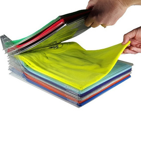 Organizador Clasificador Ropa Remeras Camisas (pack X 10)