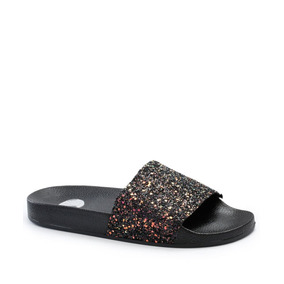 Chinelo Feminino Slide Glitter Vizzano 6329100