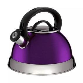 Chaleira Euro Home Boiler Em Inox Com Bakelite Roa - 2,8 L