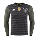 Camiseta Alemania Manga Larga 2017 Con Logo Campeon Fifa Wc