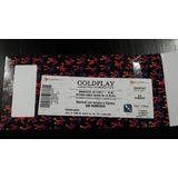 Entrada Coleccion Coldplay Campo 15-11