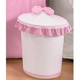 Lixeira Novo Urso Para Quarto De Bebê 1 Peça Rosa