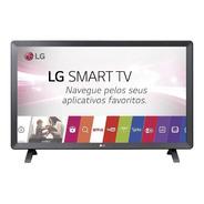 Smart Tv Monitor Led 23.6´ LG, 2 Hdmi, Usb, Wi-fi - 24tl520s