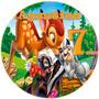 Kit Imprimible Bambi Invitaciones Cumpleaños Temático Mirá!!