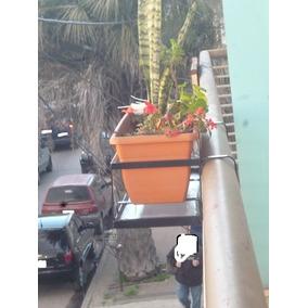 portamaceta para balcon exclusivo con drenaje