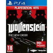 Wolfenstein The New Order - Ps4 Fisico Nuevo & Sellado