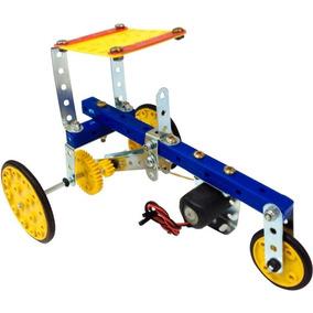 Trator De Energia Elétrica Brinquedo Montar Robótica Modelix