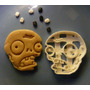 Cortante Zombie Para Muffins Cupcake Porcelana Fondant
