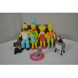 Adorno De Torta Familia Simpson En Porcelana Fria-solciarte