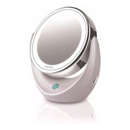 Espejo Iluminado Daga Doble Cara 5 Aumentos Rotación 360°