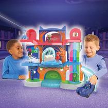 Pj Mask Cuartel Casa Heroes En Pijamas Play Set