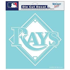 Mlb Tampa Bay Rays Decal Troqueladas, 20,3x 20,3cm Equipo
