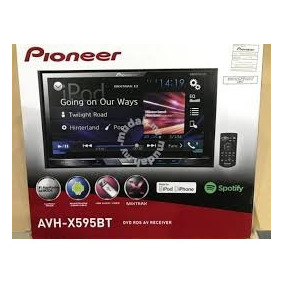 Stereo Pioneer Doble Din Spotify Bluetooth Usb.control Remot